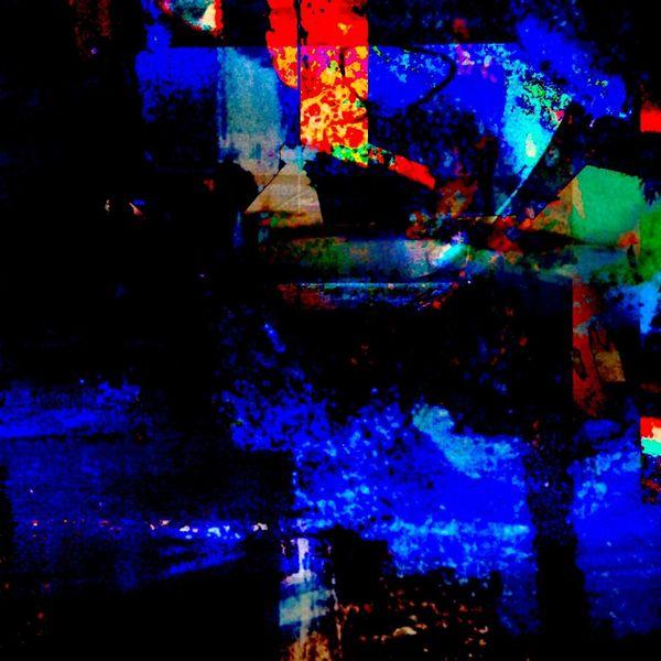 Knistern, Munkeln, Es dunkelt, Digitale kunst, Nacht,