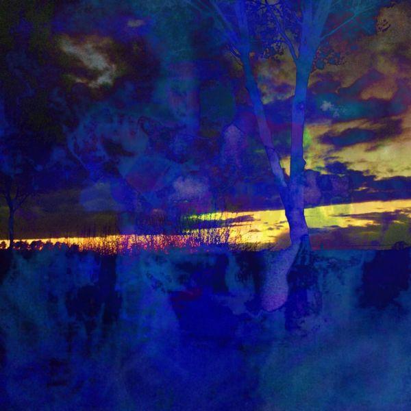 Baum, Sonnenuntergang, Wolken, Digitale kunst, Tag, Traum