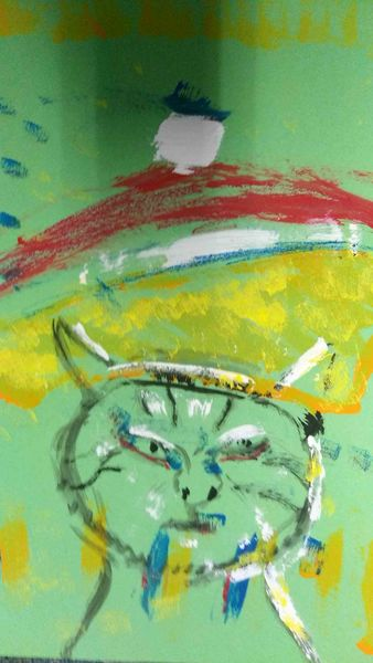 Frankreich, Klischee, Malerei