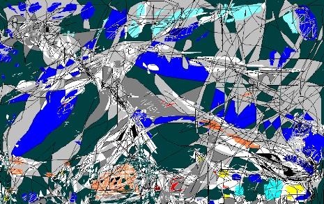 Abstrakte kunst, Digital, Abstrakt, Digitale kunst,