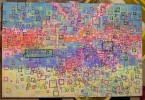 Quadrat, Abstrakt, Malerei, Panzer