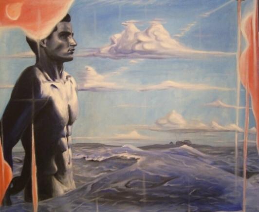 Akt, Nordsee, Meer, Maritim, Halligen, Mann