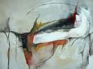 Malerei, Abstrakt, Badewanne