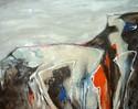 Malerei, Abstrakt, Mann