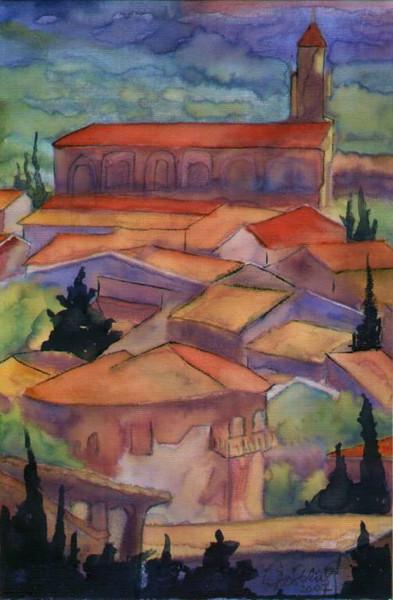 Abstrakt, Malerei, Provence