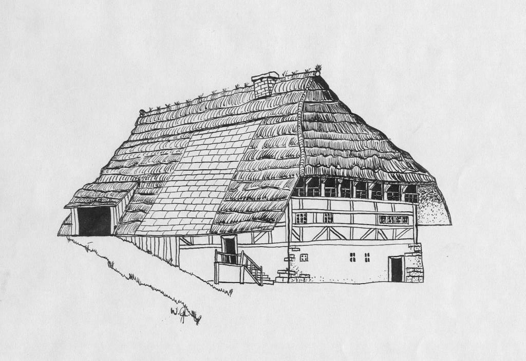 Skizze Haus Zeichnung Zeichnungen