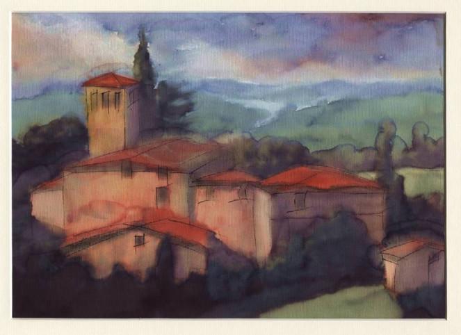 Malerei, Abstrakt, Toskana