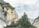 Aquarellmalerei, Grafik, Aquarell