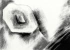 Schwarzweiß, Digital, Wahnsinn, Zeichnung