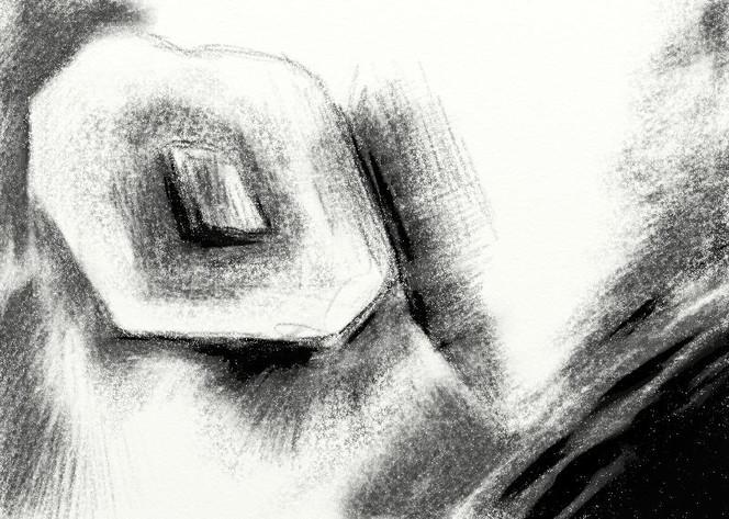 Schwarzweiß, Digital, Wahnsinn, Zeichnung, Malerei