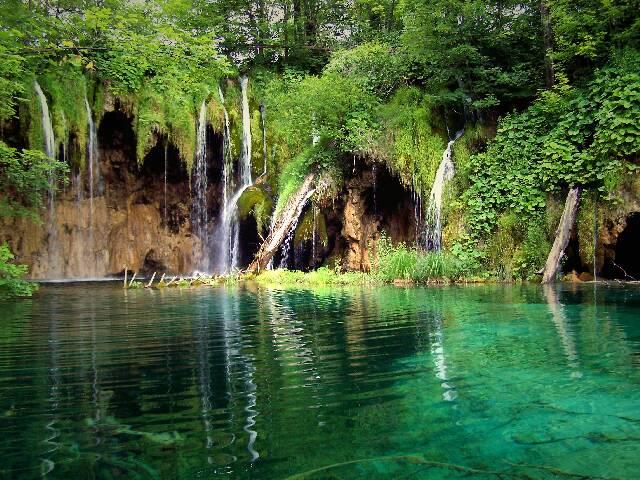 Jezera, Landschaft, Fotografie, See, Plitvicka, Wasserfall