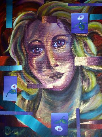 Abstrakt, Venus, Boticelli, Malerei