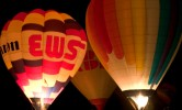 Ballon, Fotografie, Heißluftballon, Glühen
