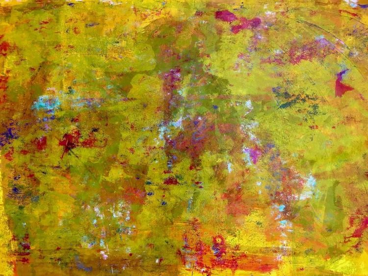 Musik, Abstrakt, Malerei