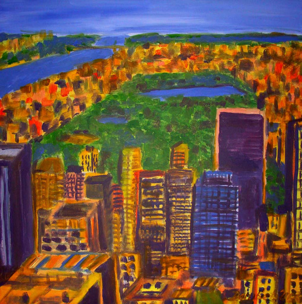 Skizze, Malerei, New york city