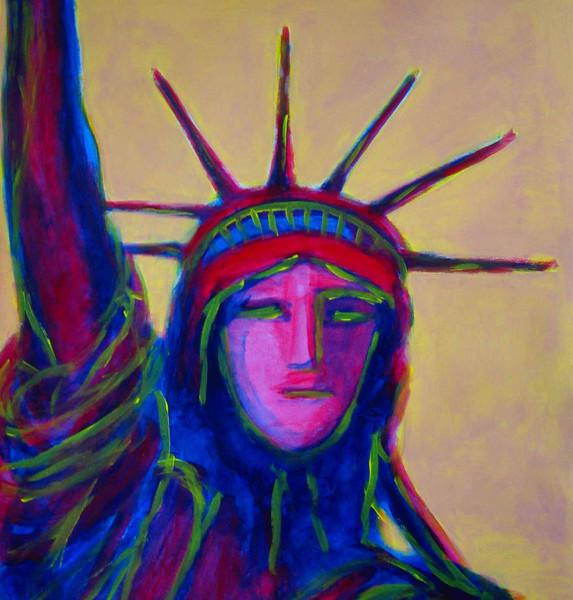 Malerei, Skizze, New york city, 2008