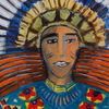 Malerei, Nativ, Menschen