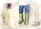 Verrassing, Garten, Blumen, Malerei