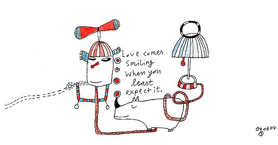 Liebe, Zeichnung, Schweigen, Zeichnungen