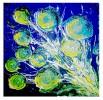 Blumen, Abstrakt, Malerei, Impressionismus
