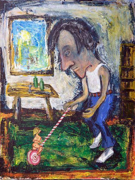 Puppentanz, Malerei