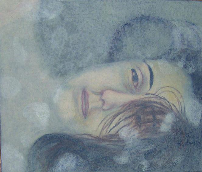 Malerei, Figural, Augenblick