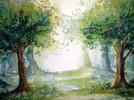 Malerei, Lichtung