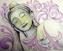 Portrait, Buddha, Zeichnungen,