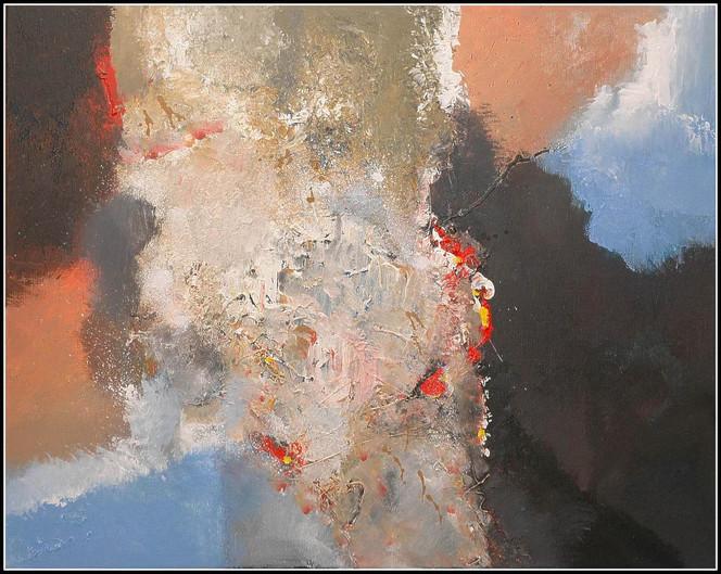 Abstrakt, Malerei, Acrylmalerei