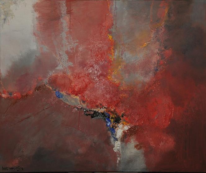 Acrylmalerei, Abstrakt, Malerei, Bart, Oijen, Gemälde