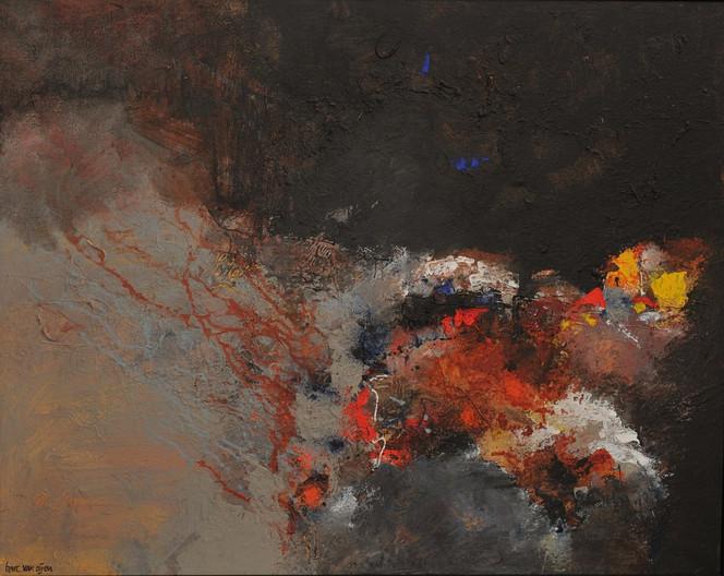 Malerei, Abstrakt, Heide