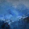 Storm, Acrylmalerei, Blau, Malerei