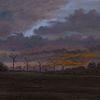 Abend, Malerei, Gemälde, Zeitgenössisch