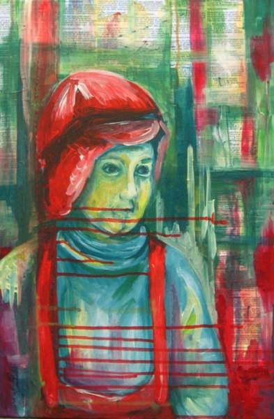 Enzensberger, Acrylmalerei, Hine, Malerei