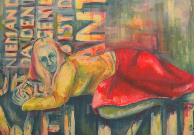 Acrylmalerei, Medea, Malerei