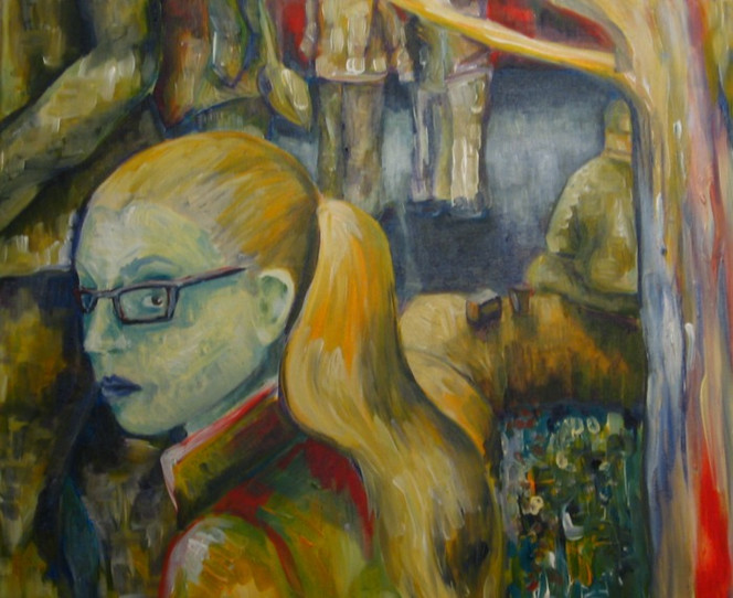 Acrylmalerei, Malerei