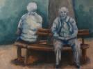 Acrylmalerei, Malerei, Park