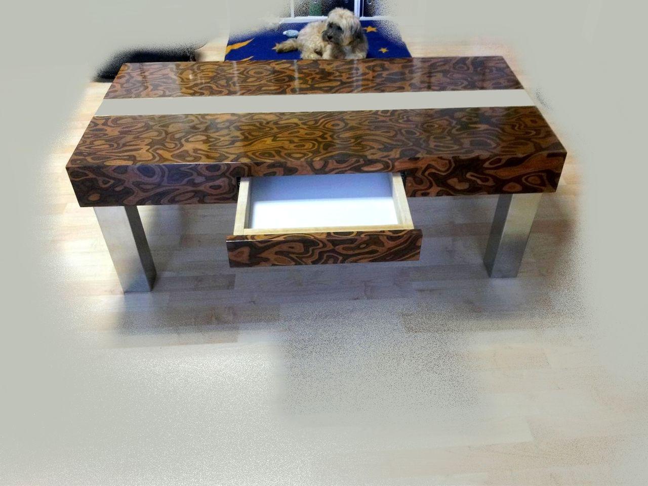design couch tisch design couchtisch holz designtisch von ambos on kunstnet. Black Bedroom Furniture Sets. Home Design Ideas
