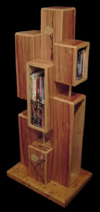 bild holz kunsthandwerk regal von ambos bei kunstnet. Black Bedroom Furniture Sets. Home Design Ideas