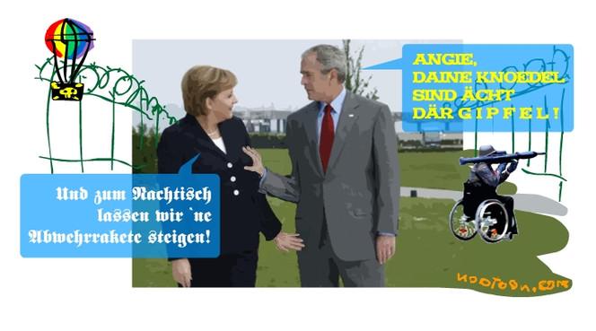 Merkel, Grafik, Busch,