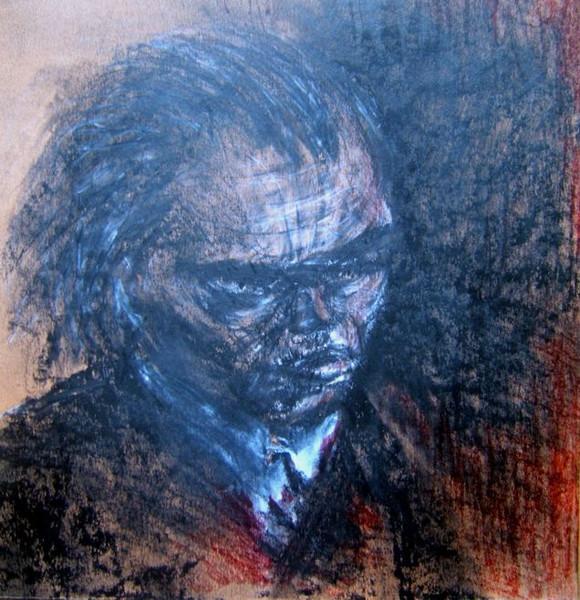 Zeichnung, Portrait, Zeichnungen, Kopf,