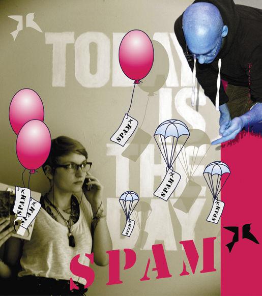Deutschland, Picturepostcard, Linn penelope micklitz, Slam, Spam, Poesie