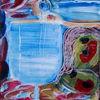 Abstrakt, Malerei, Alkohol