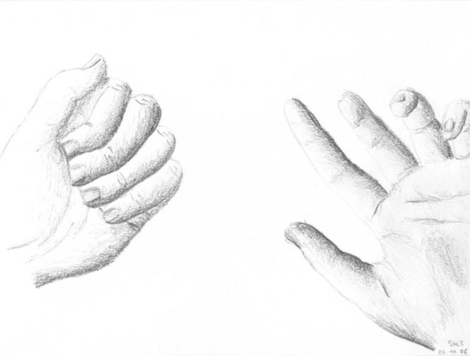 Hände, Zeichnung, Zeichnungen
