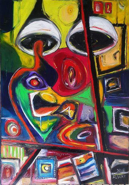 Gedanken, Übertragung, Malerei,