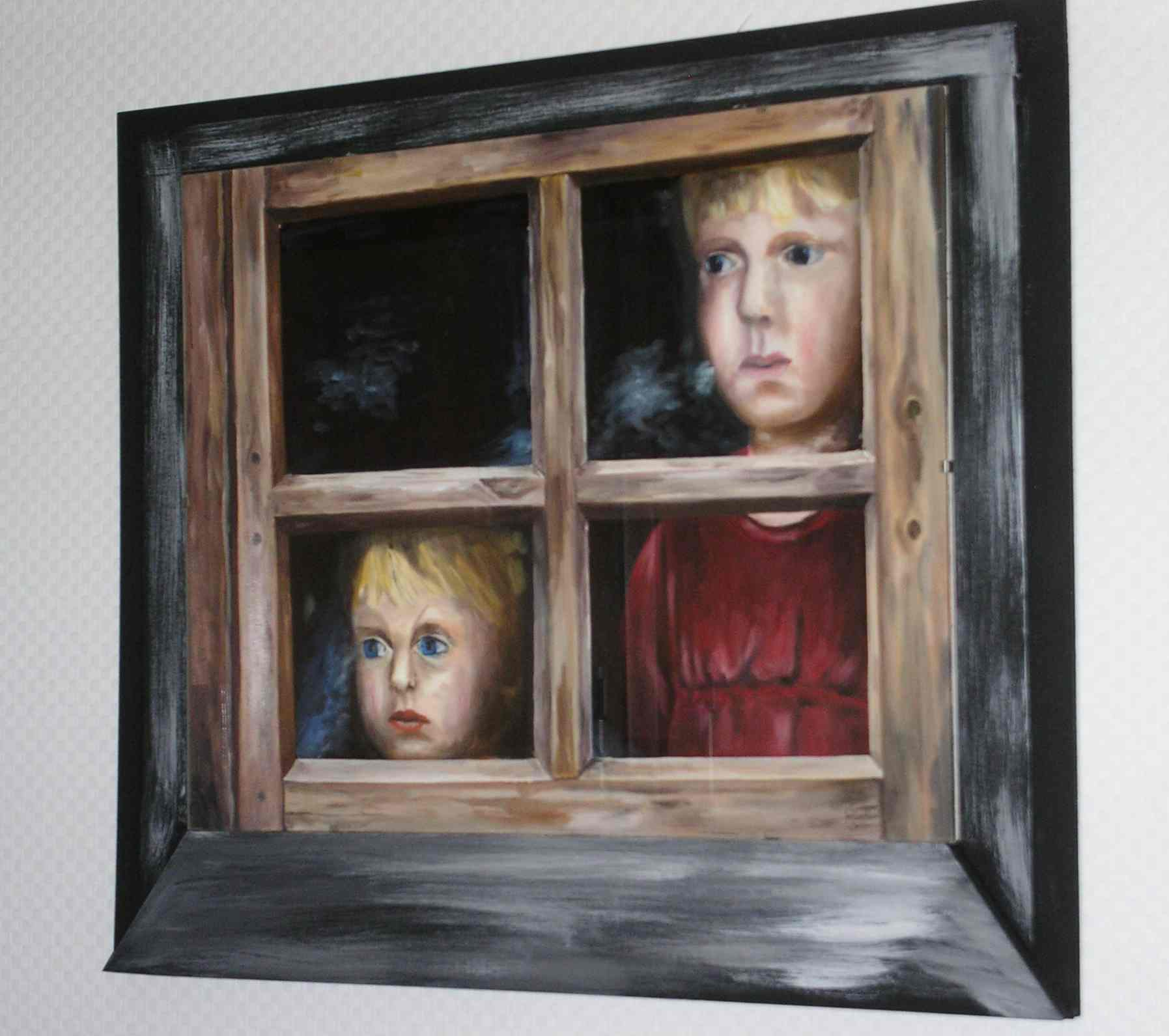 bild figural malerei menschen kinder von gisela ochs bei kunstnet. Black Bedroom Furniture Sets. Home Design Ideas