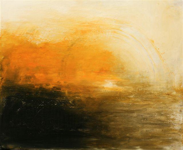 Schwarz, Sommer, Sonne, Abstrakt, Gelb, Malerei