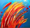 Farben, Freude, Sprühen, Abstrakt