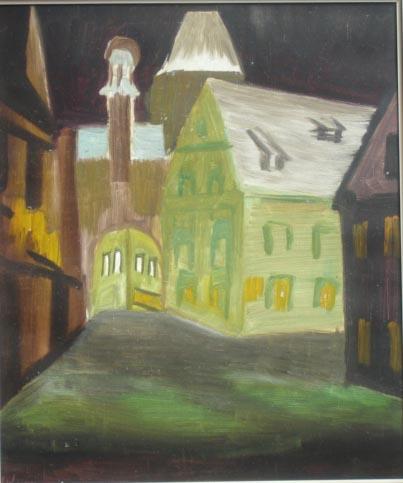 Malerei, Nacht, Ob