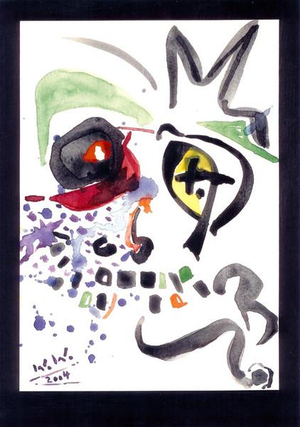 Abstrakt, Malerei, Warten